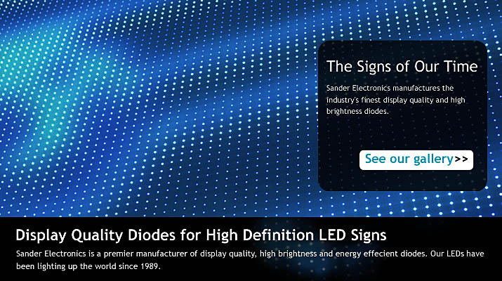 Display Quality Diodes for High Definition LED Signs